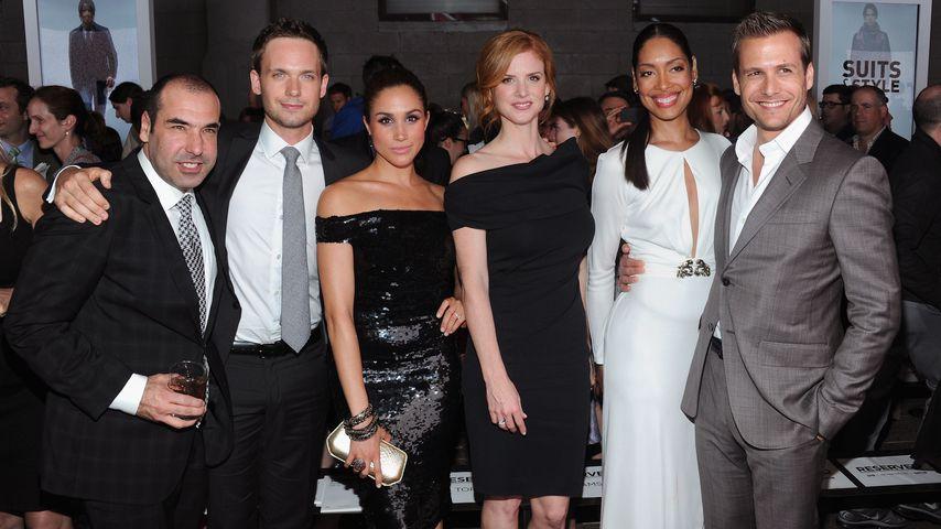 """""""Suits""""-Cast, Obamas & Co. gratulieren Harry und Meghan"""