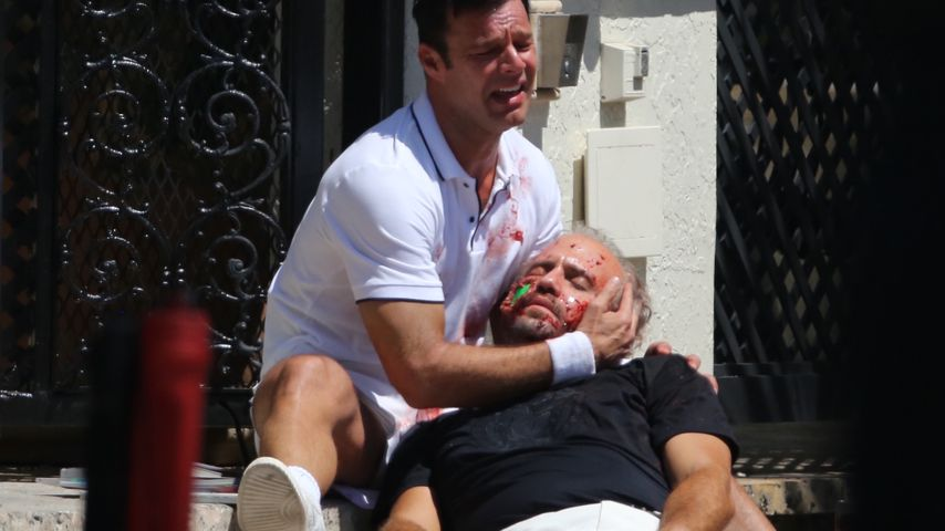 Krasse Szene am Set: Ricky Martin entdeckt Versaces Leiche!