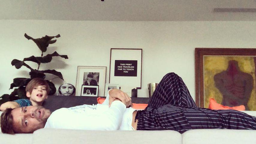 Ricky Martin und Sohn Matteo