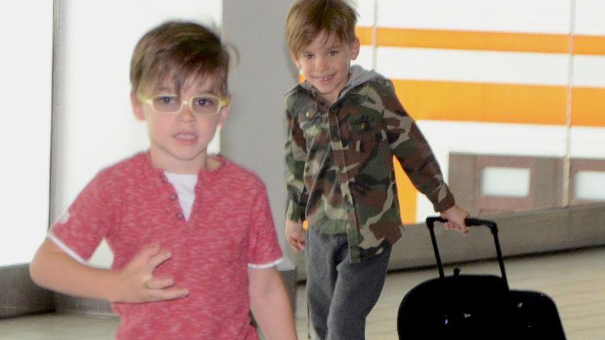 Jetset-Twins: Ricky Martins Söhne flott unterwegs