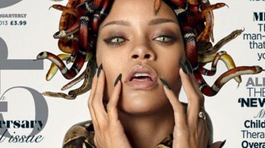 Gruselig! Bei Rihanna ist jetzt schon Halloween