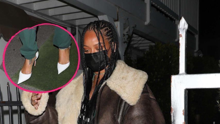 Hot or not? Rihanna kombiniert High Heels zu Joggingshose