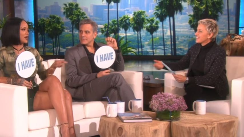 Rihanna, George Clooney und Ellen DeGeneres
