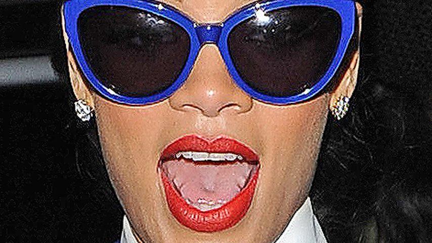 Krümelmonster: Das mampft Rihanna auf Tour!