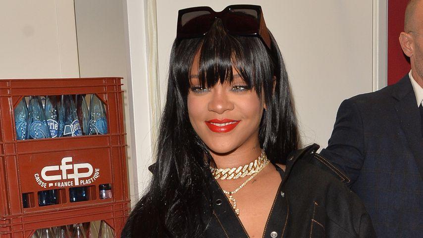 Trendige Style-Verwandlung: Rihanna trägt jetzt einen Pony