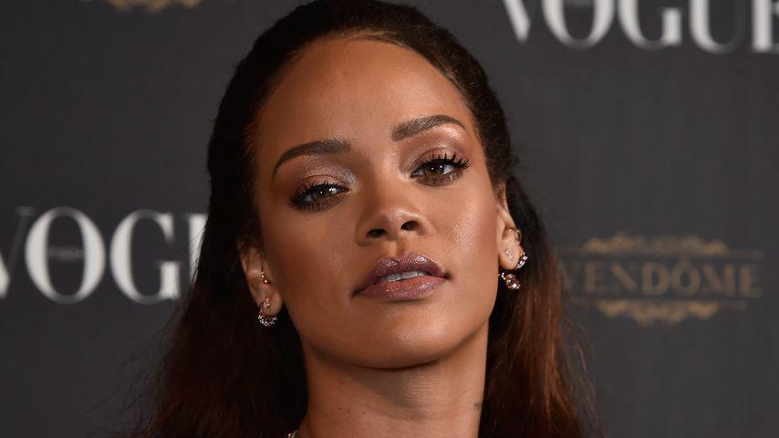 """Rihanna bei der 95. Geburtstagsfeier des """"Vogue Magazines"""" in Paris"""