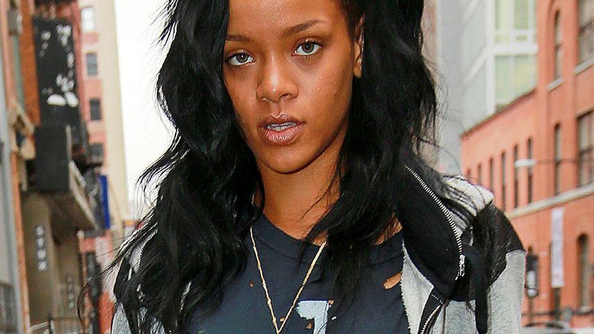 Rihanna: Total zerfetzt und fertig