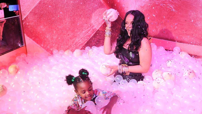 Bei Make-up-Launch: Rihannas Nichte stiehlt ihr die Show!