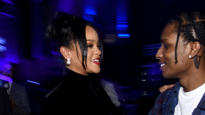Rihanna und A$AP Rocky, 2019