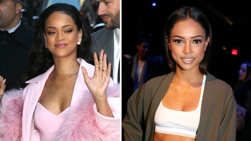 Nach Baby-Skandal: Rihanna tröstet Karrueche Tran!