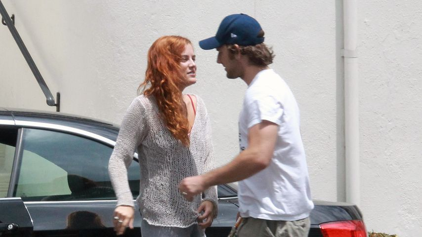 Alex Pettyfer und Riley Keough