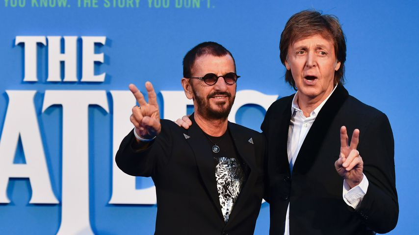 Ringo Starr und Paul McCartney, Ex-Mitglieder der Beatles
