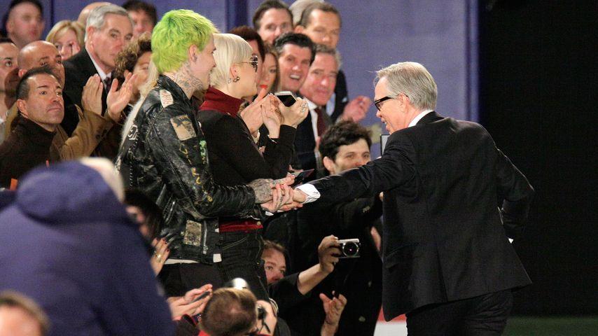 Rita Ora, Richard Hilfiger und Tommy Hilfiger