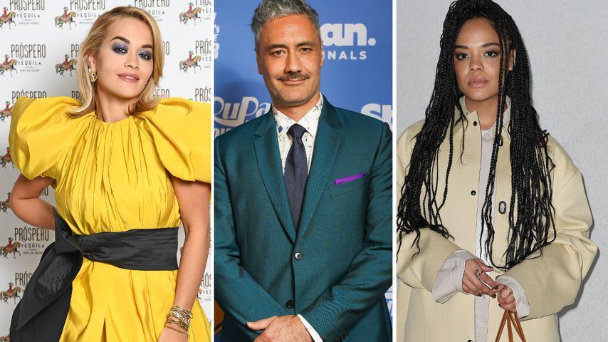 Schräger Dreier: Taika Waititi knutscht mit Rita Ora & Tessa