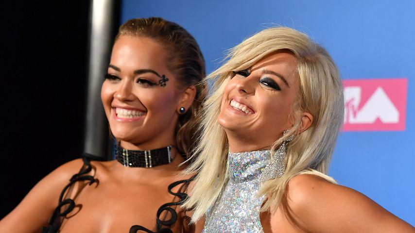Rita Ora und Bebe Rexha bei den VMAs 2018