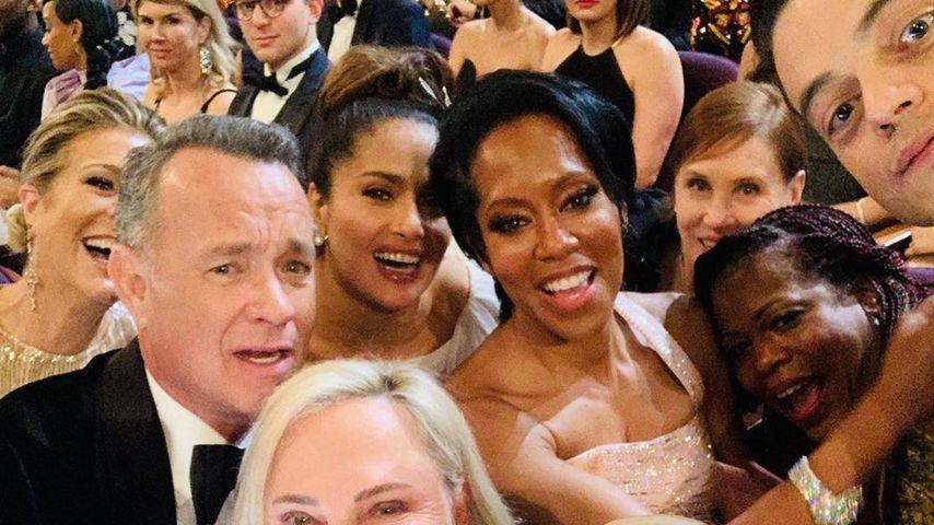 Was für ein Foto! Mega-Stars auf einem Oscar-Selfie vereint