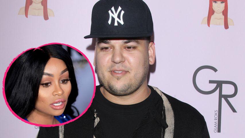 Zoff um Unterhalt: Rob Kardashian will Geld von Blac Chyna!