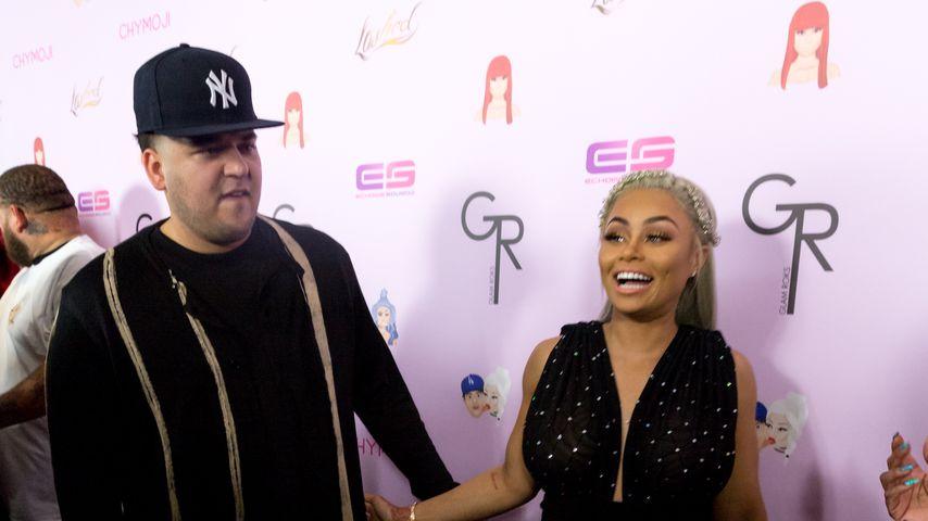 Rob Kardashian und Blac Chyna in Hollywood im Mai 2016