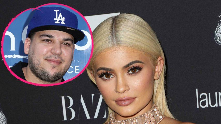 Rob Kardashian im Beef-Modus: Er tweetet Kylies Handynummer!