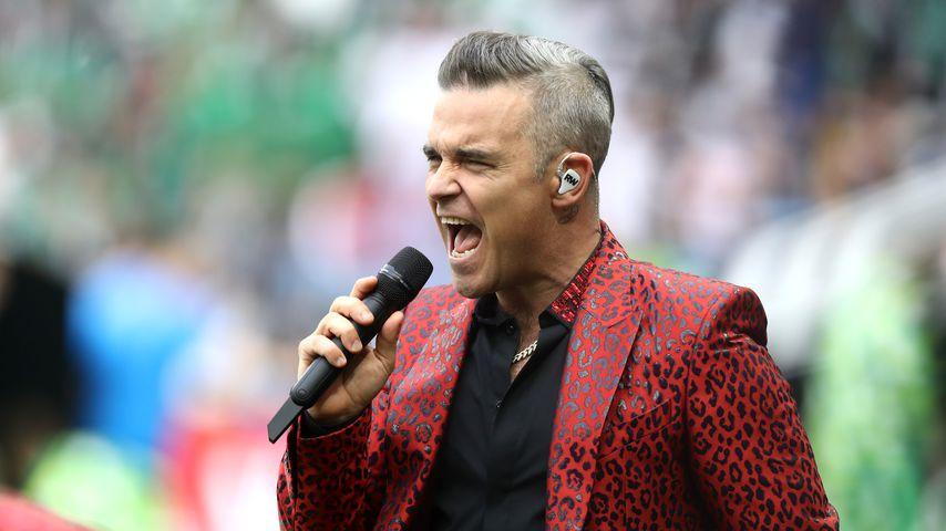 Robbie Williams in Moskau 2018