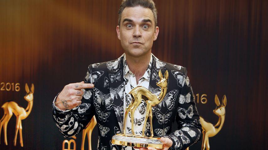 Seit 10 Jahren clean: Robbie Williams denkt an Ecstasy!