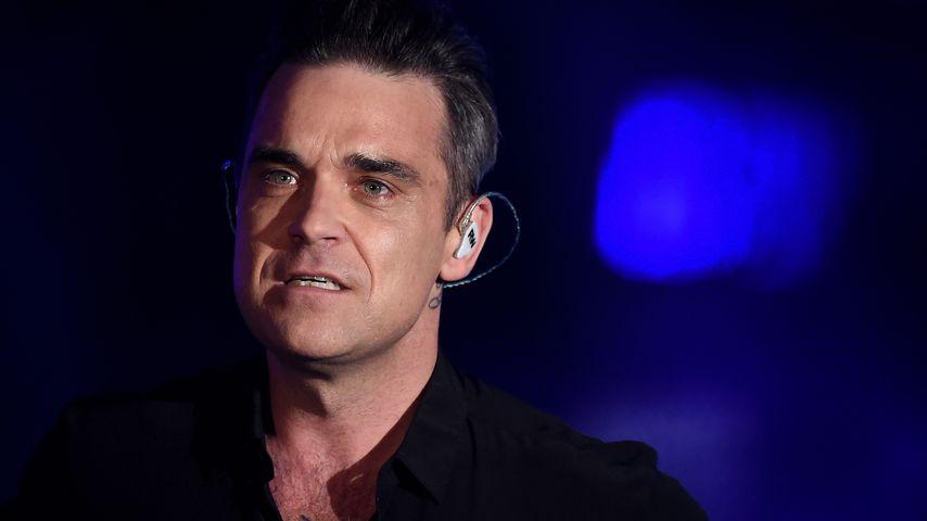 Robbie Williams war früher zu Weihnachten immer betrunken!