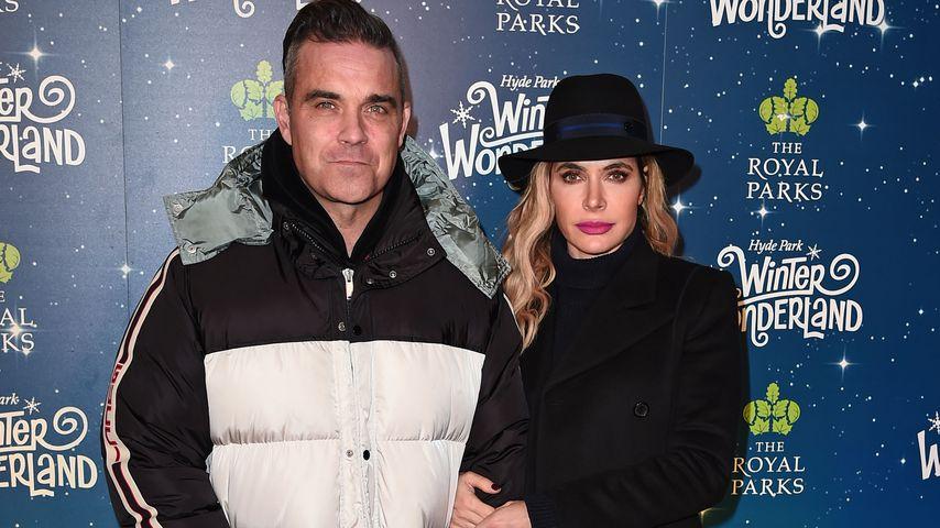 Robbie Williams und Ayda Field 2018