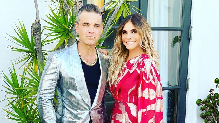 Robbie Williams und Ayda Field im Mai 2019