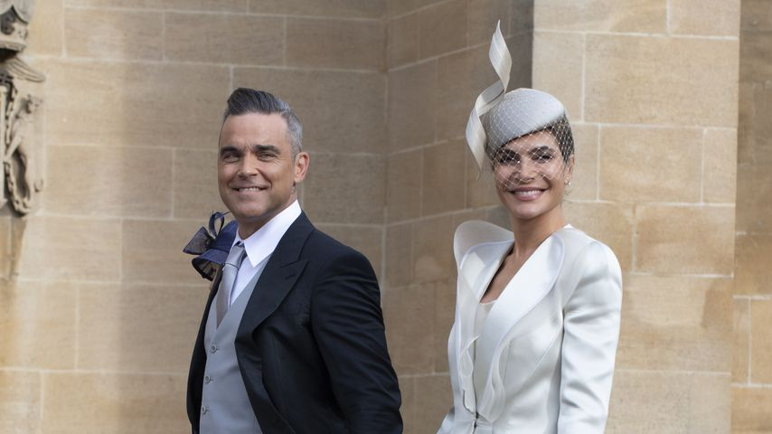 Robbie Williams und Ayda Field 2018 in Windsor