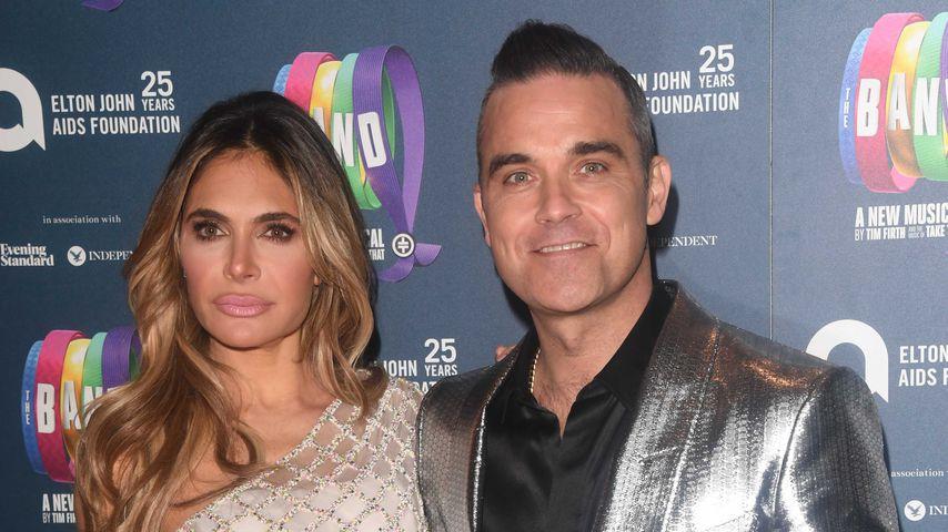 Ayda Field und Robbie Williams bei einer Charity-Gala