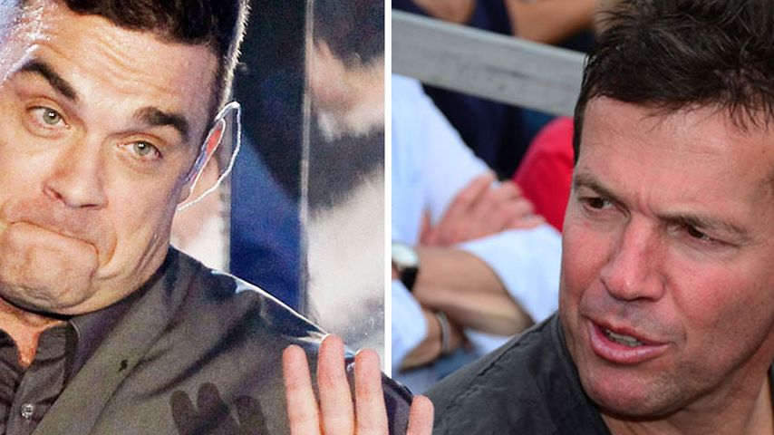 "Robbie lästert über Lothar: ""Er ist verrückt!"""