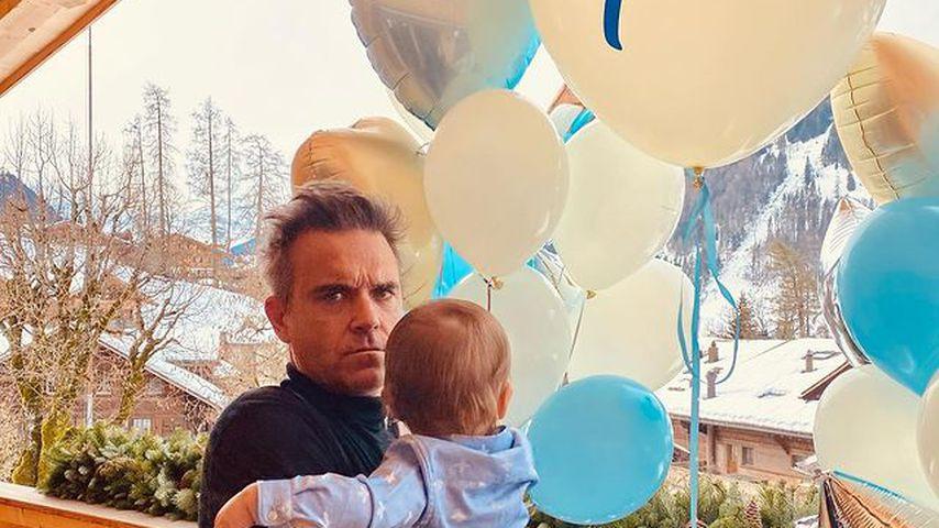 Neues Heim: So cool feiert Robbie Williams' Sohn Geburtstag