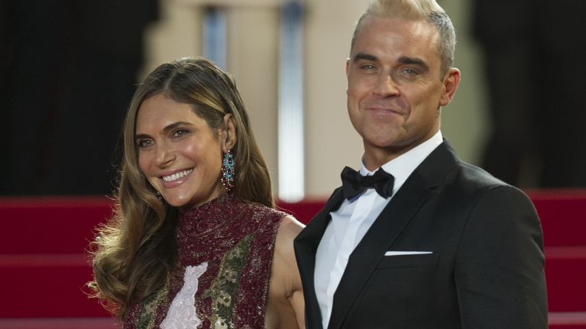 Robbie Williams und Ayda Field