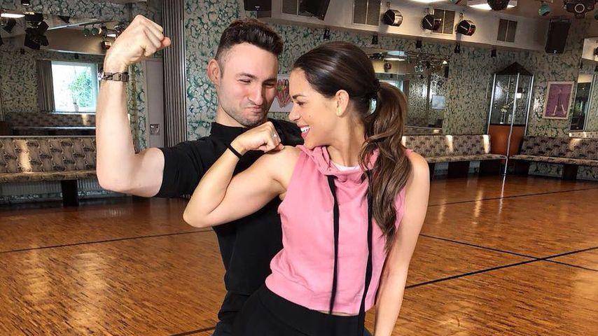 """Robert Beitsch und Jessica Paszka beim Training für """"Let's Dance"""""""
