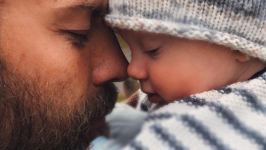 Robert Dallmann und sein Sohn