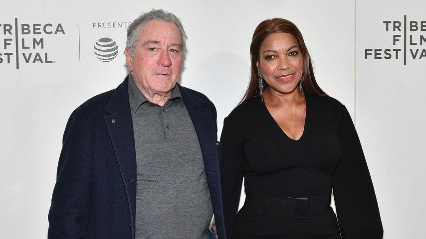 Robert De Niro und Grace Hightower auf dem Tribeca Film Festival 2018