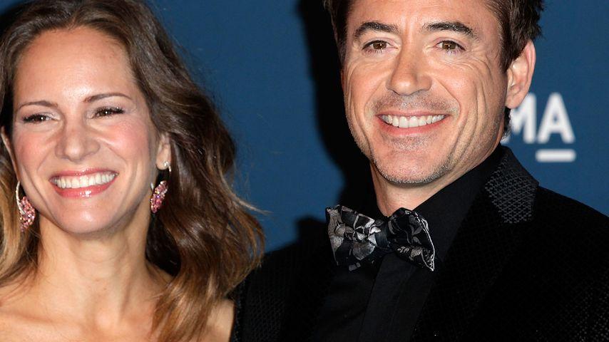 Süße Botschaft: Robert Downey Jr. wieder Papa?