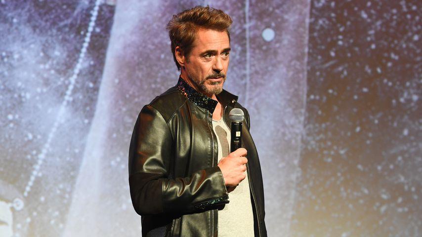 """Robert Downey Jr. bei einer Filmvorführung von """"Wind River"""" in Atlanta im November 2017"""
