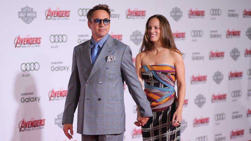 Robert Downey Jr. und seine Frau Susan bei einer Filmpremiere in Hollywood