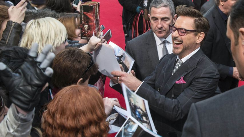 "Mega-Hype um Robert Downey Jr.: ""Iron Man"" liebt Berlin!"