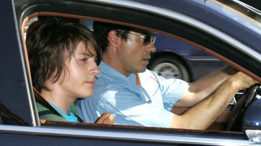 Nach Koks-Fahrt: Robert Downey Juniors Sohn bleibt straffrei