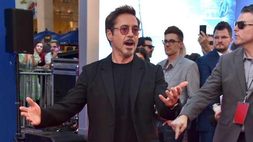 Robert Downey Jr. zeigt seine hochschwangere Frau