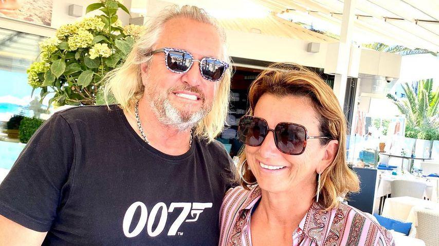 Robert Geiss und Claudia Obert, Ibiza 2021
