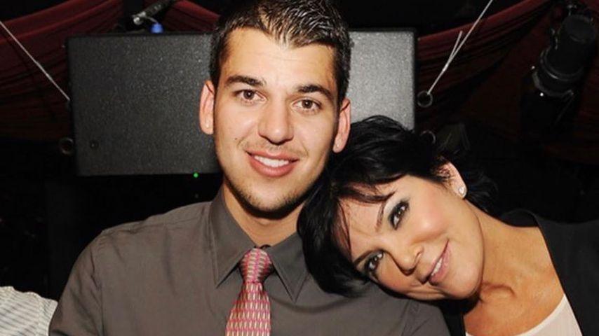 Robert Kardashian und seine Mutter Kris Jenner