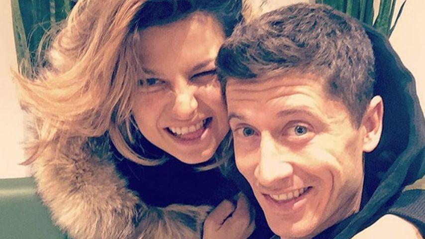 Anna und Robert Lewandowski
