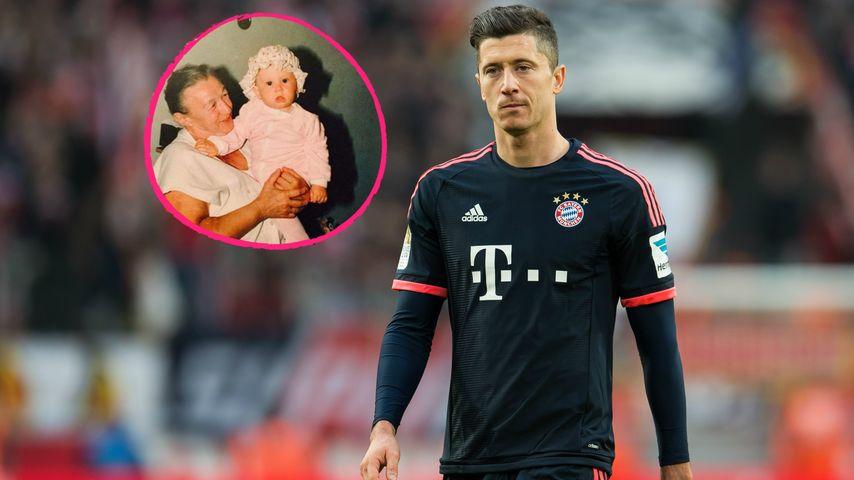 Bayern-Star Robert Lewandowski trauert um seine Oma (✝91)