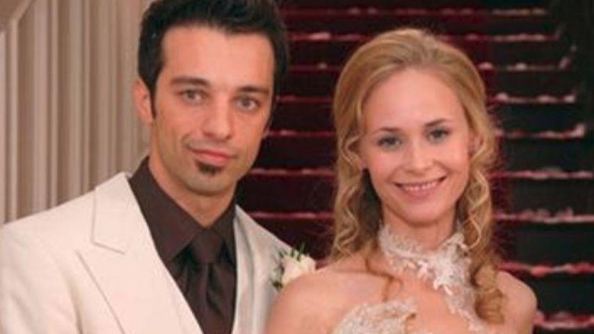 """Robert (Lorenzo Patané) und Miriam (Inez Bjørg David) , """"Sturm der Liebe""""-Paar Staffel 2"""
