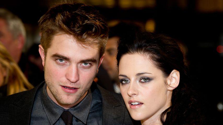 """Robert Pattinson und Kristen Stewart bei der """"Twilight""""-Premiere 2011"""