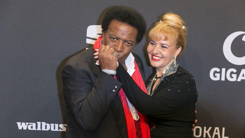 Roberto und Luzandra Blanco bei der Goldenen Kamera 2017