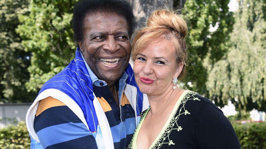 Roberto Blanco und Luzandra Strassburg im Schlosspark Theater in Berlin, August 2021